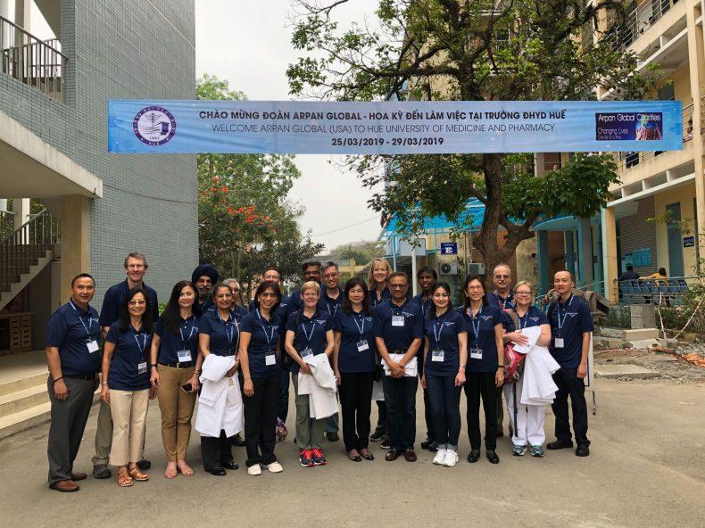 Volunteer Team at Hue - Vietnam March 25-29, 2019